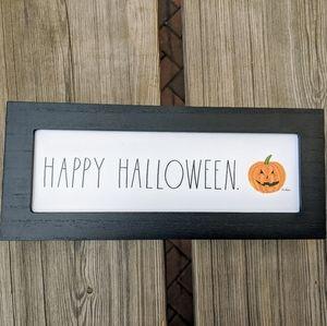 Rae Dunn Accents - RAE DUNN Happy Halloween Wooden Sign NWT
